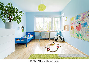Cute children room - Cute stylish designed interior of small...