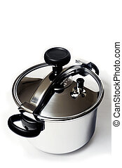 Pressure cooker stainless steel French-made for cooking food...