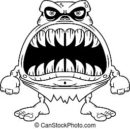 Angry Cartoon Ghoul
