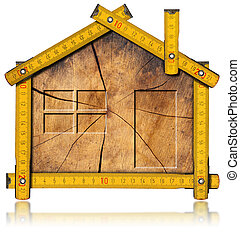 Wooden House Project Concept