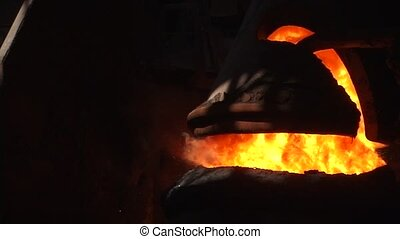 Cast iron in the BOF - casting iron in BOF converter work