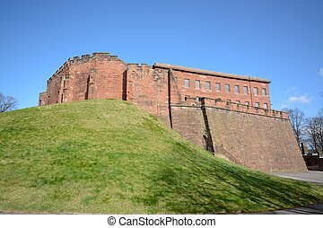 Chester castle - The Norman castle at Chester built from...