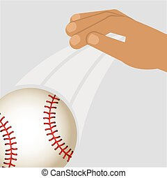 baseball sport design, vector illustration eps10 graphic