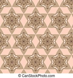 Abstract background composed brown and shades of beige...