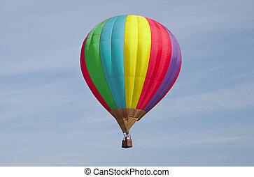 Balloon flies - Varicoloured balloon flies on a background...