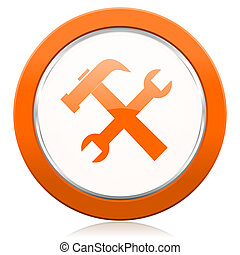 橙, 圖象, 工具, 服務, 簽署
