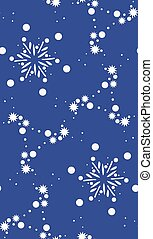 Seamless Stars and Snowflakes