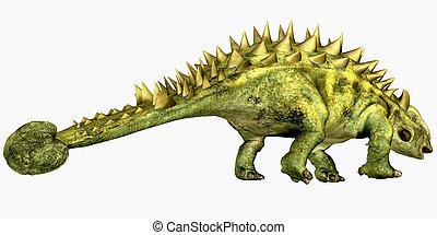 Talarurus Bony Tail - Talarurus was a herbivorous dinosaur...