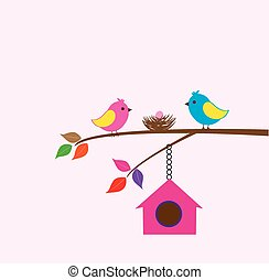 Bird House - tor bird family
