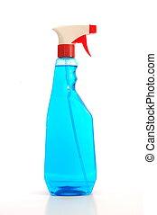 spray bottles for hygiene in a clean home...