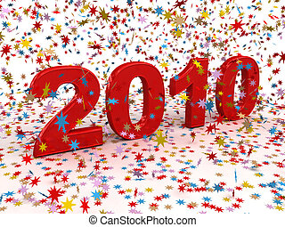 Happy New Year 2010 - Happy new year 2010 High quality 3d...