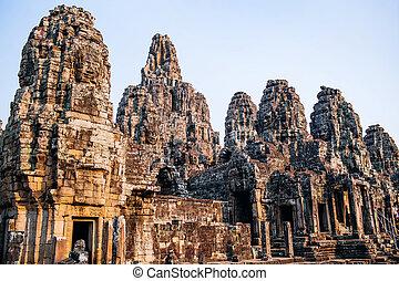 tempel, bayon,