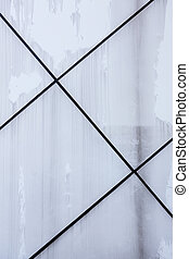 Wall texture with diagonal black lines