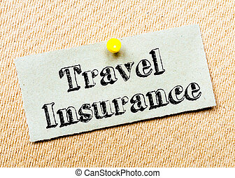 Travel Insurance Message