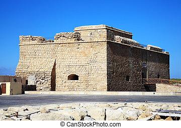Paphos Castle, Cyprus - Paphos Castle, originally built as a...
