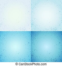 Abstract blue scratched background - Abstract blue scratched...
