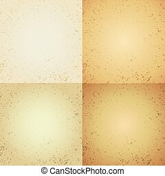Abstract scratched background. - Abstract yellow scratched...