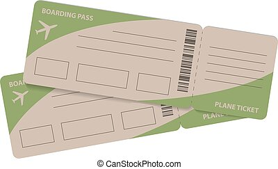 Plane tickets Clipart Vector and Illustration. 3,653 Plane tickets ...