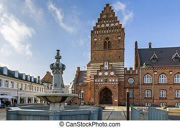 Town hall, Roskilde - Town hal in Roskilde is 19th century...