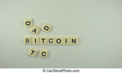 Bitcoin Addict - Spelled Out