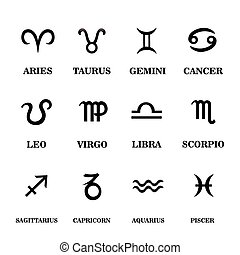 Set zodiac sign