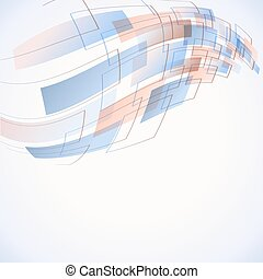 abstract futuristic background with soft blue color