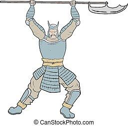 Arm samurai - Creative design of Arm samurai