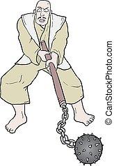 Warrior man - Creative design of Warrior man