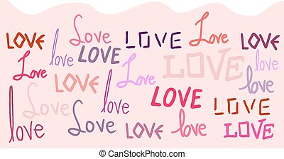 Love wallpaper - Creative design of Love wallpaper