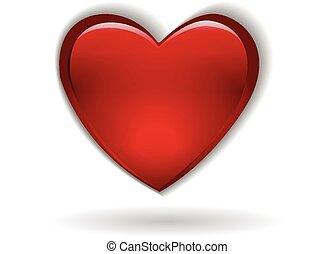 Heart symbol valentines day logo