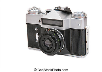 Obsolete photo camera