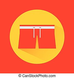 clothes swiming design - clothes swim design, vector...