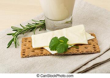 Kefir - Traditional dietary dairy produkt kefir with napkin...