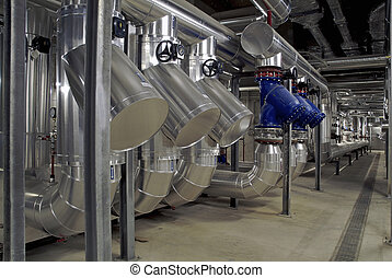 industrial plant for air treatment