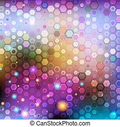 Abstract violet background - Mosaic vector abstract violet...