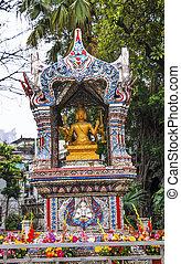 Buddhist Buddha Shrine Lychee Bay Luwan Guangzhou Guangdong...