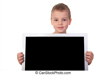 boy with screen