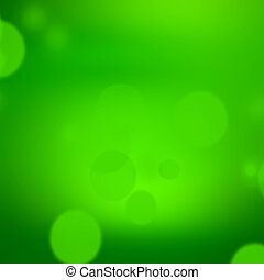 green background, abstract nature fresh bokeh background