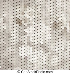 abstract floral background with geometric elements in shades of gray