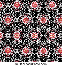Abstract geometric background composed of vintage color...