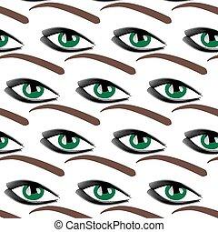 Symbolic modern pattern