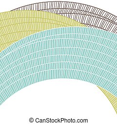 Abstract circle background Vector element for design
