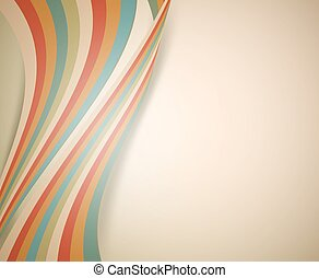 retro background with stripes