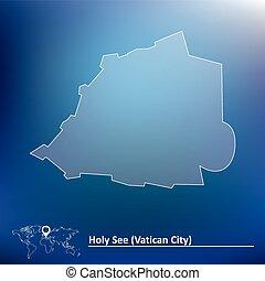 Map of Vatican