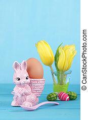 復活節, 蛋,  bunny, 杯子