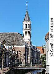 Elle boog church in Amersfoort, build in 1820, neo -...