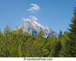 Wetterstein alps in Bavarian - Wetterstein german alps in...