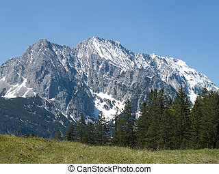 Wetterstein alps in Bavarian - Wetterstein german alps in...