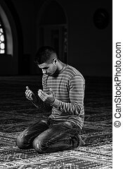 Muslim At Mosque