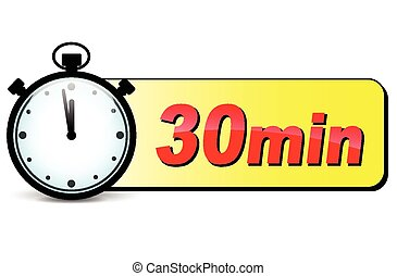 30 min Vector Clip Art EPS Images. 31 30 min clipart vector ...